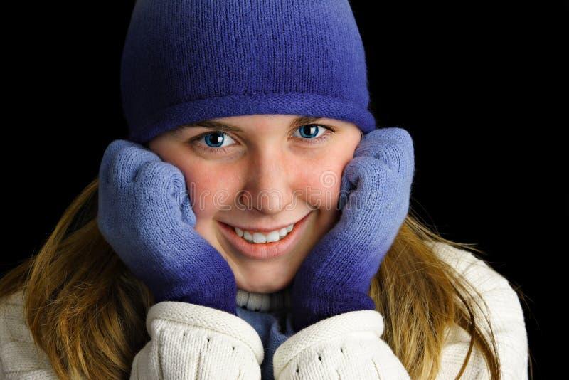 κρύες γυναικείες νεολ στοκ εικόνες