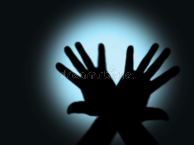 κρύος φόβος στοκ φωτογραφία με δικαίωμα ελεύθερης χρήσης
