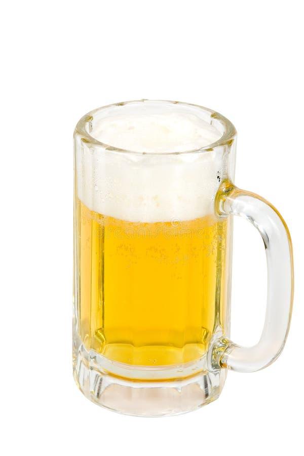 κρύος foamy πάγος μπύρας στοκ εικόνες