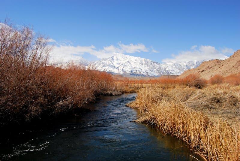 κρύο ρεύμα βουνών στοκ εικόνες με δικαίωμα ελεύθερης χρήσης