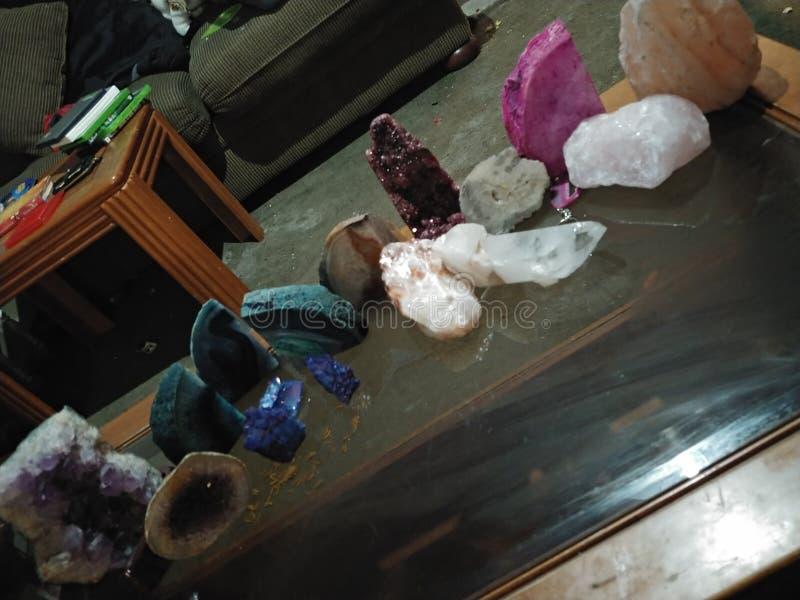 Κρύσταλλα και θεραπεία στοκ φωτογραφία με δικαίωμα ελεύθερης χρήσης