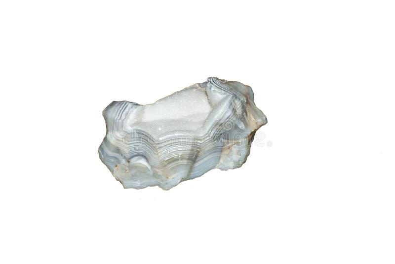 Κρύσταλλο Geode αχατών chalcedony στοκ φωτογραφία