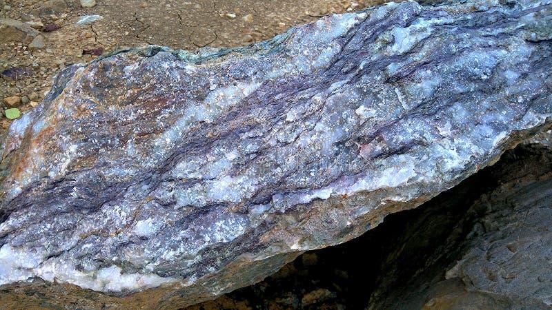 Κρύσταλλο Stone στοκ εικόνες