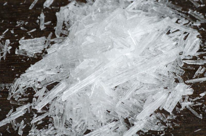 Κρύσταλλα μεντών στοκ φωτογραφία με δικαίωμα ελεύθερης χρήσης