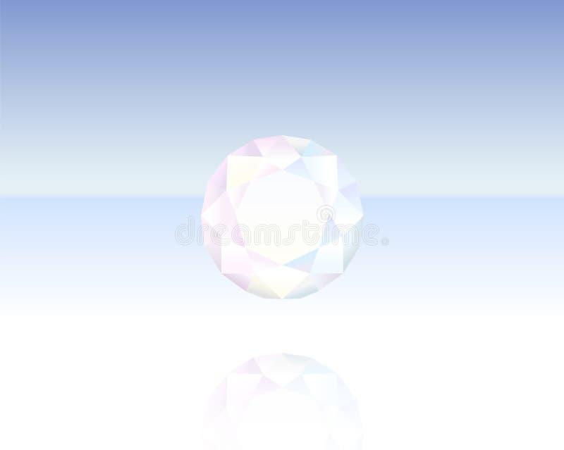 Κρύσταλλο λαμπρό ελεύθερη απεικόνιση δικαιώματος