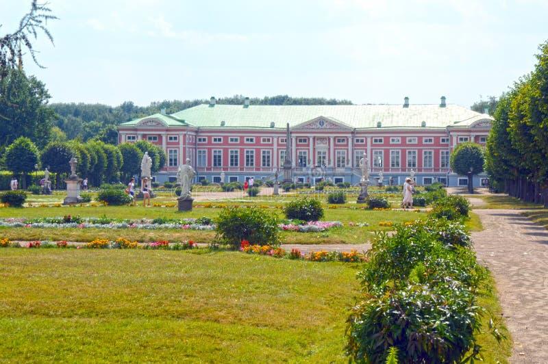 Κτήμα Ρωσία Μόσχα Kuskovo συνόλων στοκ φωτογραφία
