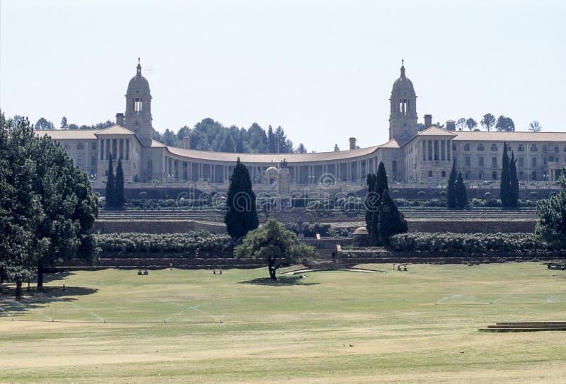 Κτήρια ένωσης, Πρετόρια, Νότια Αφρική στοκ φωτογραφία με δικαίωμα ελεύθερης χρήσης