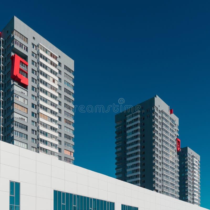 κτήρια αρχιτεκτονικής σύ&gamm στοκ φωτογραφίες