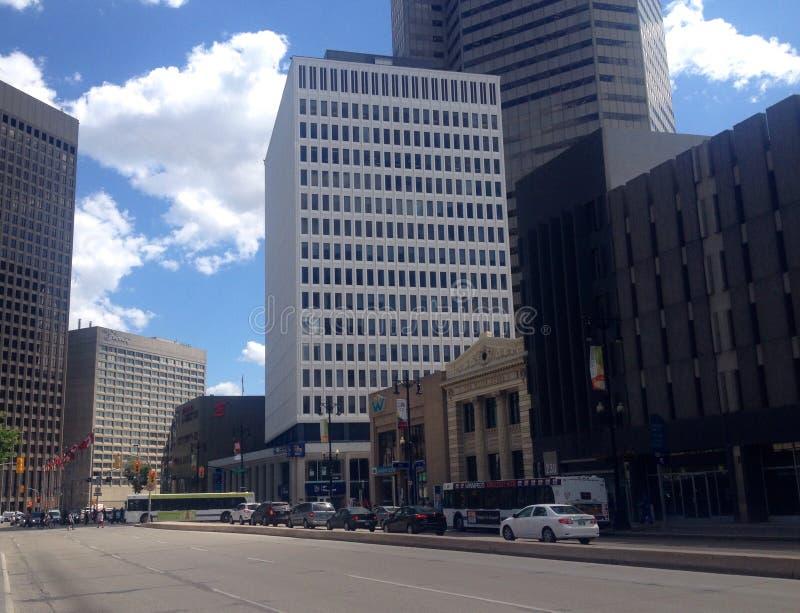 Κτήρια κεντρικός Winnipeg στοκ φωτογραφία με δικαίωμα ελεύθερης χρήσης