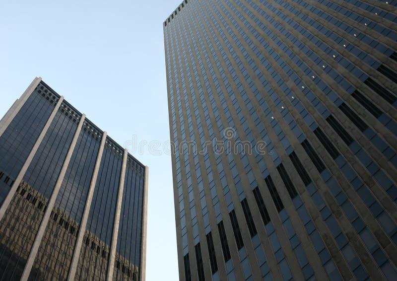 κτήρια νέα δύο Υόρκη στοκ φωτογραφία με δικαίωμα ελεύθερης χρήσης