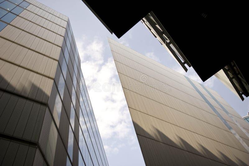 Κτήρια ουρανοξυστών, Λονδίνο στοκ εικόνα