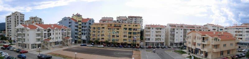 κτήρια πανοραμικά στοκ φωτογραφία με δικαίωμα ελεύθερης χρήσης