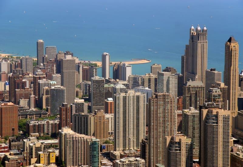 κτήρια Σικάγο στοκ εικόνα