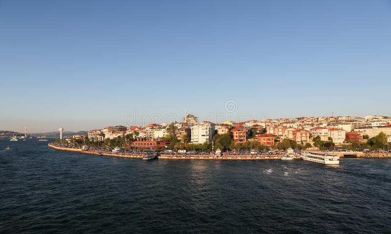 Κτήρια στην πόλη της Ιστανμπούλ, Τουρκία στοκ φωτογραφία