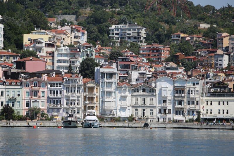 Κτήρια στην πόλη της Ιστανμπούλ, Τουρκία στοκ φωτογραφία με δικαίωμα ελεύθερης χρήσης