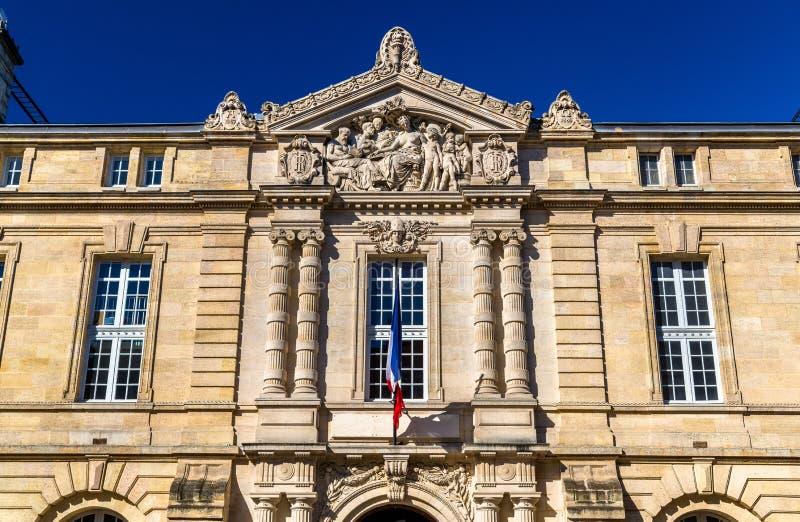 Κτήρια στο ιστορικό κέντρο του Μπορντώ, Γαλλία στοκ φωτογραφίες με δικαίωμα ελεύθερης χρήσης