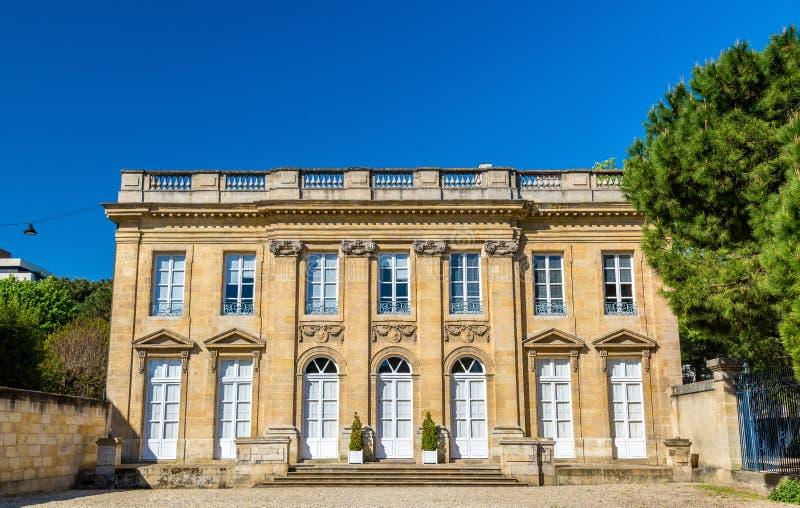 Κτήρια στο ιστορικό κέντρο του Μπορντώ, Γαλλία στοκ φωτογραφίες