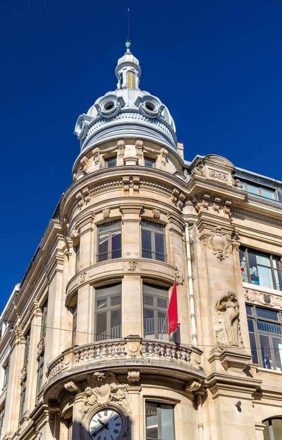 Κτήρια στο ιστορικό κέντρο του Μπορντώ, Γαλλία στοκ φωτογραφία με δικαίωμα ελεύθερης χρήσης
