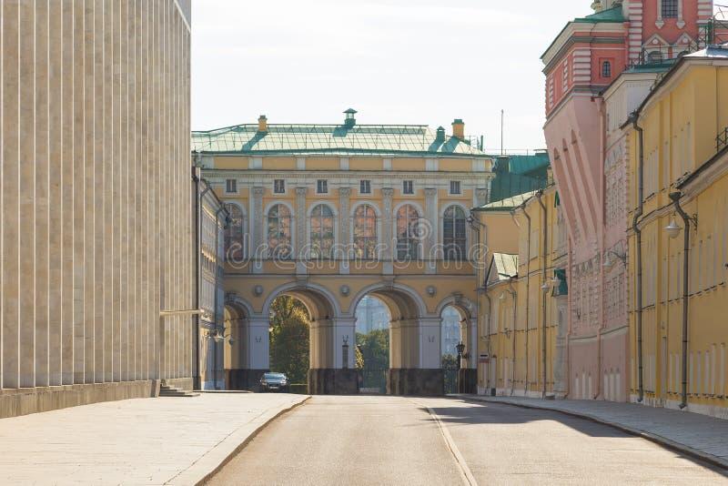 Κτήρια της Μόσχας Κρεμλίνο, Ρωσία στοκ εικόνες
