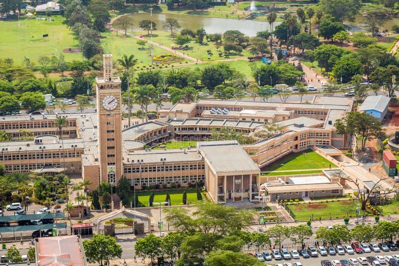 Κτήρια του Κοινοβουλίου της Κένυας, Ναϊρόμπι στοκ εικόνες με δικαίωμα ελεύθερης χρήσης