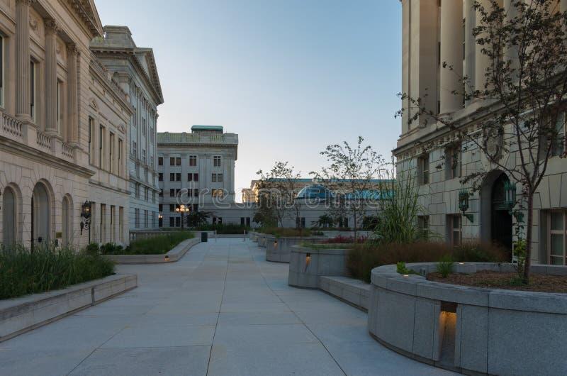 Κτήρια του Χάρισμπουργκ Capitol στοκ φωτογραφίες με δικαίωμα ελεύθερης χρήσης