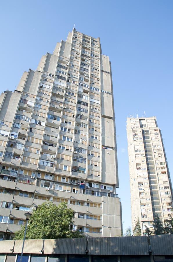 Κτήριο ανατολικού Gade σε Βελιγράδι στοκ εικόνα