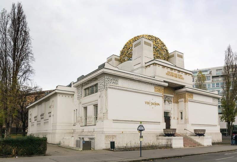 Κτήριο αποχώρησης, Βιέννη στοκ φωτογραφία με δικαίωμα ελεύθερης χρήσης