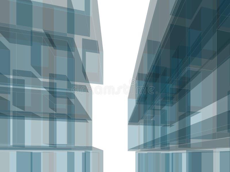 Κτήριο αρχιτεκτονικής στοκ εικόνες με δικαίωμα ελεύθερης χρήσης