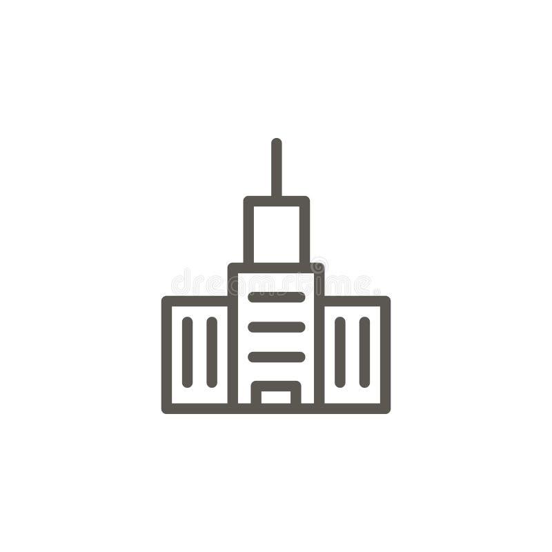 Κτήριο, διανυσματικό εικονίδιο σπιτιών Απλή απεικόνιση στοιχείων από την έννοια UI Κτήριο, διανυσματικό εικονίδιο σπιτιών Διάνυσμ απεικόνιση αποθεμάτων