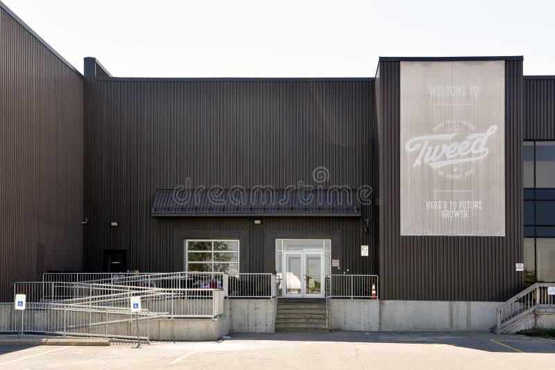 Κτήριο εταιριών αύξησης θόλων τα φθινόπωρα Οντάριο, Cana Smiths στοκ εικόνες