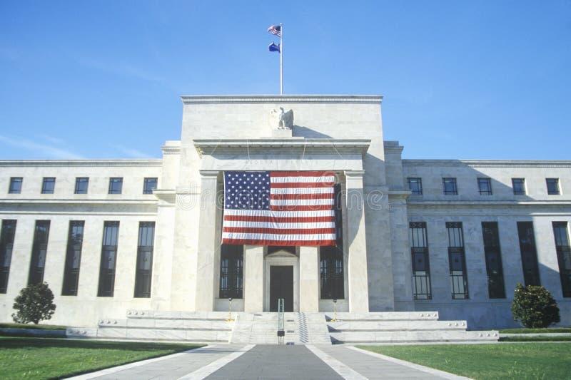 Κτήριο Ηνωμένης Κεντρικής Τράπεζας των ΗΠΑ, Ουάσιγκτον D Γ στοκ φωτογραφίες