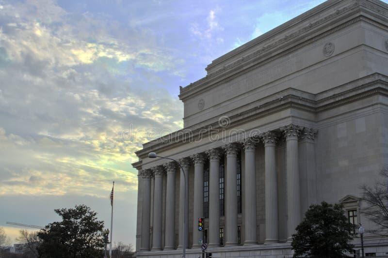 Κτήριο Ηνωμένης Κεντρικής Τράπεζας των ΗΠΑ στοκ φωτογραφία με δικαίωμα ελεύθερης χρήσης