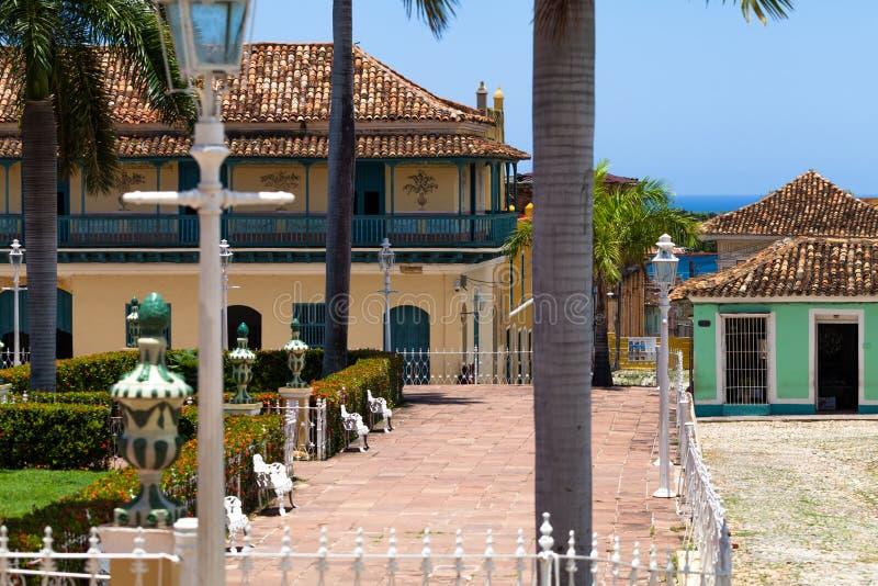 Κτήριο και αρχιτεκτονική της ΟΥΝΕΣΚΟ Κούβα στο Τρινιδάδ 4 στοκ φωτογραφία με δικαίωμα ελεύθερης χρήσης