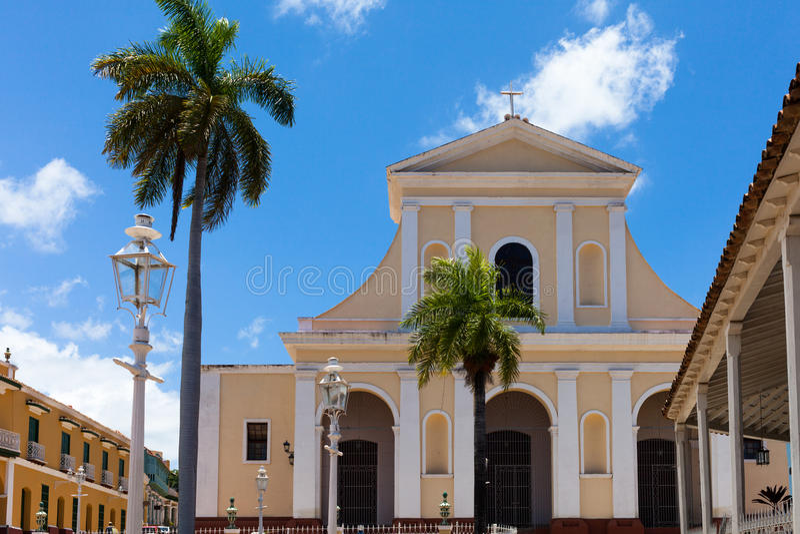 Κτήριο και αρχιτεκτονική της ΟΥΝΕΣΚΟ Κούβα στο Τρινιδάδ 6 στοκ φωτογραφία