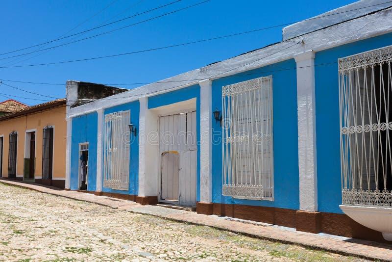 Κτήριο και αρχιτεκτονική της ΟΥΝΕΣΚΟ Κούβα στο Τρινιδάδ 7 στοκ φωτογραφία
