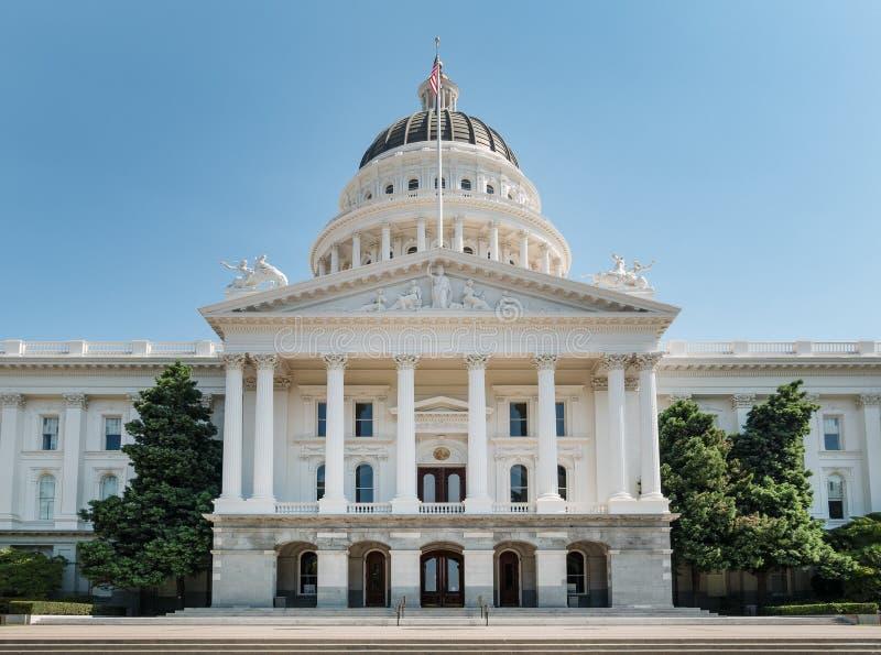Κτήριο κρατικού Capitol, Σακραμέντο, Καλιφόρνια στοκ εικόνες