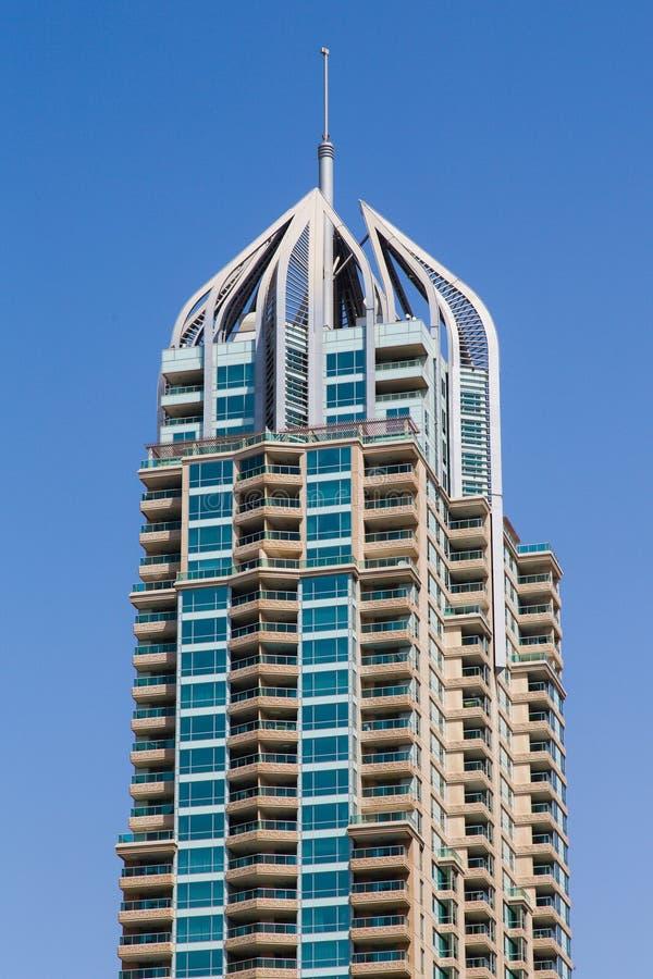 Κτήριο μαρινών του Ντουμπάι στοκ εικόνα