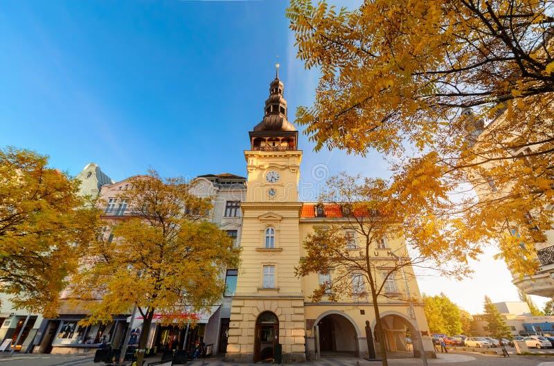 Κτήριο μουσείων της Οστράβα στο παλαιό Δημαρχείο στοκ φωτογραφίες