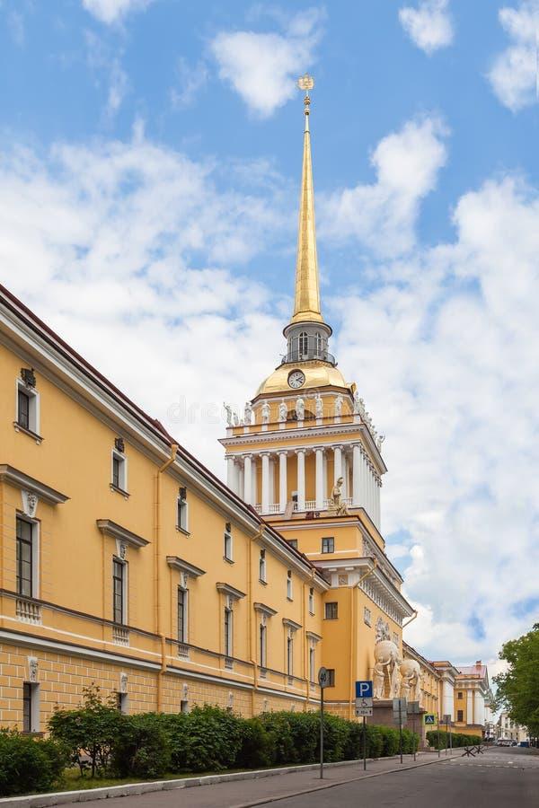 Κτήριο ναυαρχείου, Άγιος Πετρούπολη στοκ εικόνα με δικαίωμα ελεύθερης χρήσης