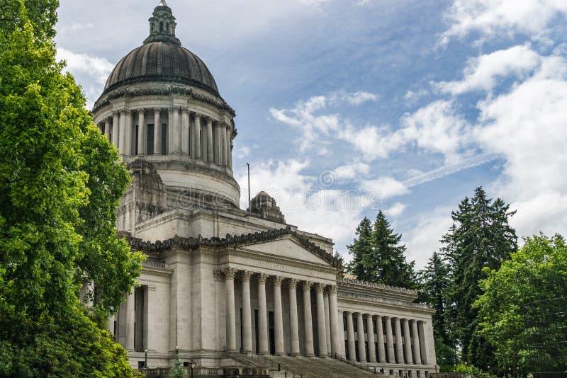 Κτήριο νομοθετικού σώματος πολιτεία της Washington στοκ εικόνες