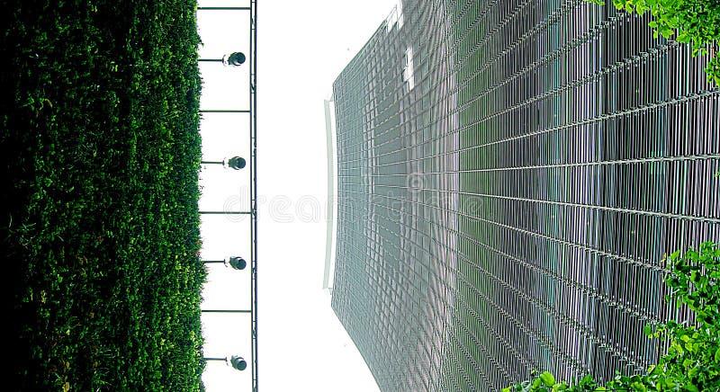 Κτήριο ομιλουσών ταινιών Walkie στο Λονδίνο Κήπος ουρανού στοκ φωτογραφίες με δικαίωμα ελεύθερης χρήσης