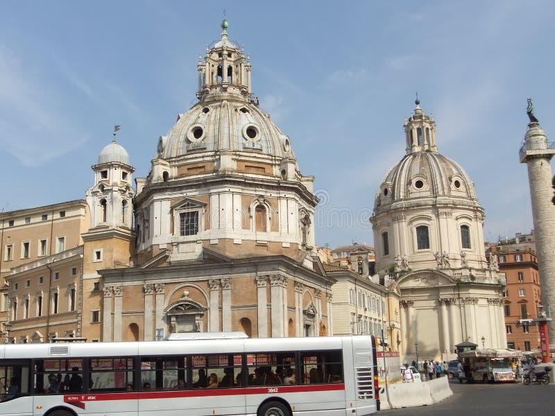 Κτήριο ορόσημων στη Ρώμη στοκ φωτογραφία