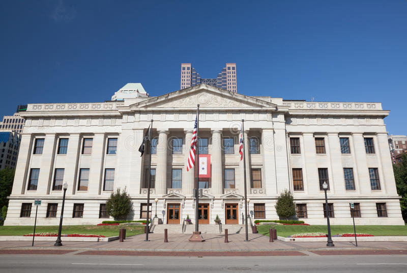 Κτήριο Οχάιο Βουλή & Capitol στοκ φωτογραφίες