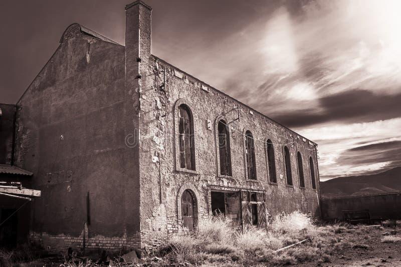 Κτήριο που εγκαταλείπεται στοκ εικόνες