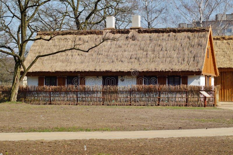 Κτήριο, σιταποθήκη, υπαίθριο μουσείο στο χωριό στοκ εικόνα