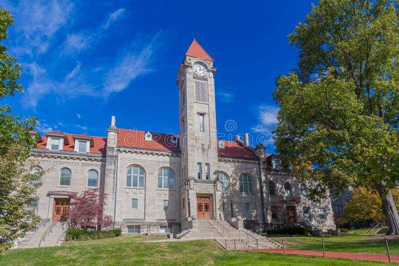 Κτήριο σπουδαστών βουκόλων της Frances Morgan στοκ φωτογραφία