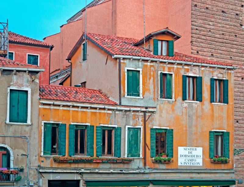 Κτήριο της Βενετίας στοκ εικόνες