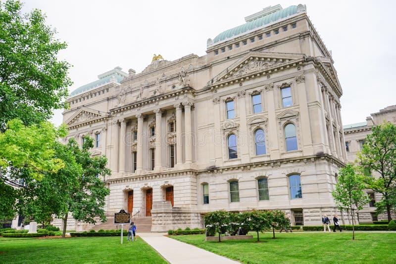 Κτήριο της Ιντιάνα Capitol στοκ φωτογραφίες
