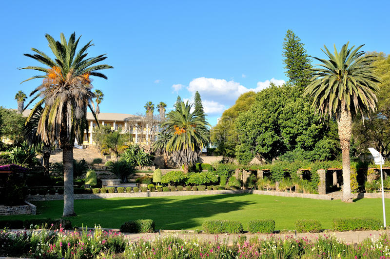 Κτήριο του Κοινοβουλίου, Windhoek, Ναμίμπια στοκ εικόνες