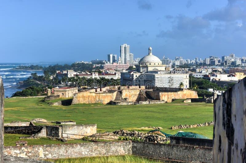 Κτήριο του Πουέρτο Ρίκο Capitol - San Juan στοκ εικόνες
